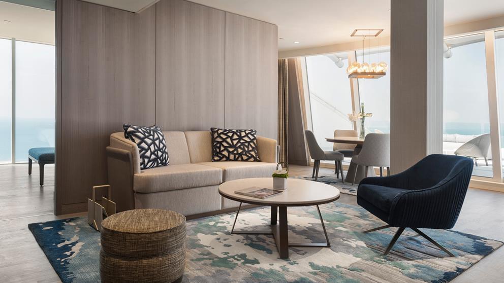1-bedroom ocean suite